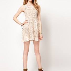 asos - Image 4 of Free People Floral Lace Babydoll Dress