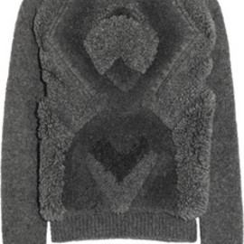 Stella McCartney - Textured alpaca-blend sweater