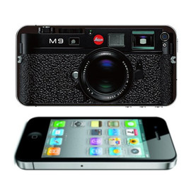 allmaciphone - iPhone decal sticker cover -- Leica M9