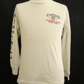 beastie boys 1987 LICENSED TO ILL TOUR T-shirts