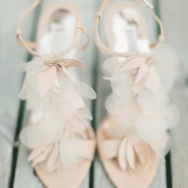 Petaled shoes