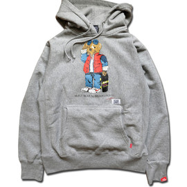 HEADGOONIE - McFLY BEAR by HEADGOONIE HEAVYWEIGHT HOODIE SWEAT