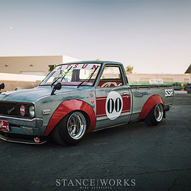 "Datsun - 620 Pickup 1973 ""Works Style"" by Landon Brown"