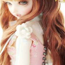 Erin B B Budge - Erin as a doll @Erin B B Budge