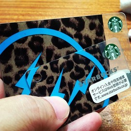 fragment design - Starbucks Card
