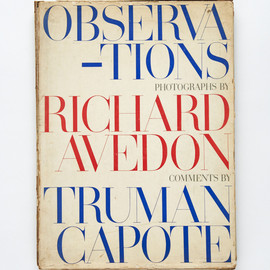 Richard Avedon, Truman Capote - Observations