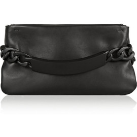 Maison Martin Margiela - Chain-embellished leather clutch