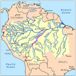 Waterway - Madeira River System