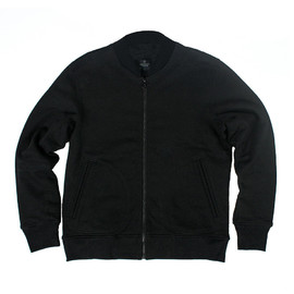 Reigning Champ - Heavyweight Varcity Jacket - Thermal Black Pack