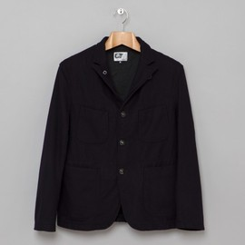 Engineered Garments - Bedford Jacket in Navy 20oz Melton
