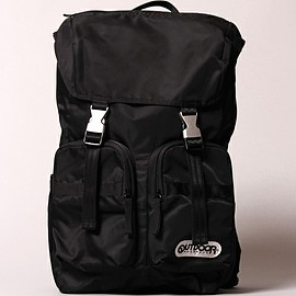 OUTDOOR PRODUCTS - Nylon Twill Backpack
