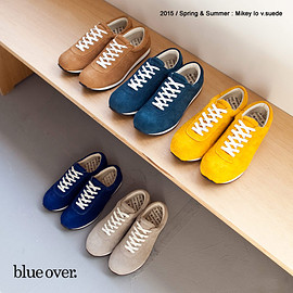 blueover - blueover blue over ブルーオーバー マイキー mikey lo スエード