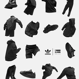 Pharrell Williams, Adidas - Pharrell Williams Teases New 'Triple Black' Adidas Collaboration