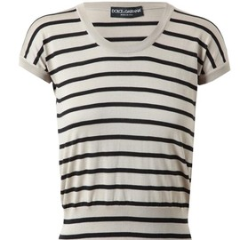 DOLCE&GABBANA - Striped Silk Knit