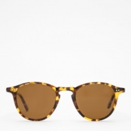garrett leight - Hampton In Leopard Tortoise