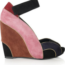 PIERRE HARDY - suede wedges