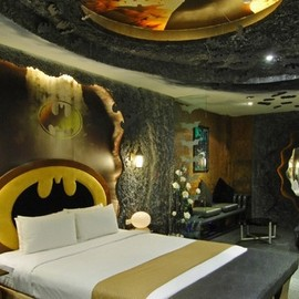 "Taiwan   - Eden Motel  ""Batman Room"""