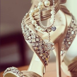 Jimmy Choo ,Chanel - Jimmy Choo & Chanel Wedding Shoes