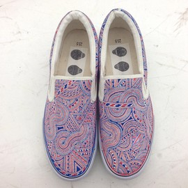 APSU - One off hand-painted pattern shoes