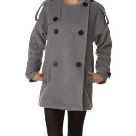 SLY - 【SLY】◎◇WOOLノーカラーコート