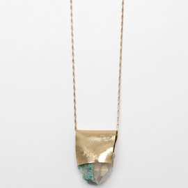 Nallik by Jean Balke - Amazonite/Quartz Necklace