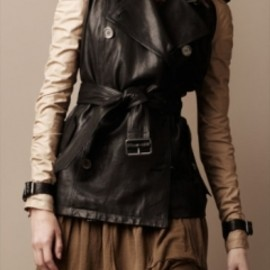 MIDLENGTH COTTONTWILL TRENCHCOAT