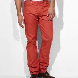 Levi's - 501 Mineral Red