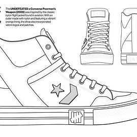 UNDEFEATED, CONVERSE - Coloring Book - Poorman's Weapon