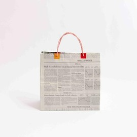 News paper bag (denimtoto )