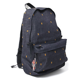 NADA. - Psychic-cross embroidery back pack