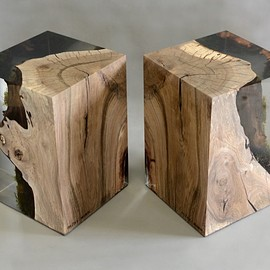 alcarol - STUMP STOOL_WALNUT