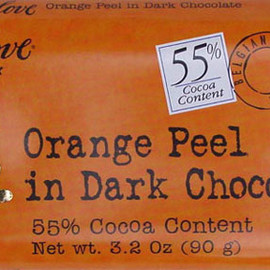 Chocolove - Orange Peel in Dark Chocolate