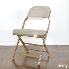 CLARIN - FULL CUSION FOLDING CHAIR tawny