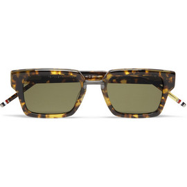 THOM BROWNE - Thom Browne Square-Frame Acetate and Metal Sunglasses