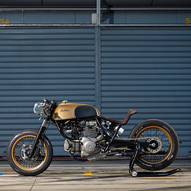 "Mellow Motorcycles - ""FRKNSTN"" Sprint Racer"