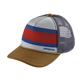 patagonia - Kids' Interstate Hat, Rugby Stripe: Coriander (RUCO)