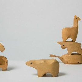 Karl Zahn for Areaware - Wooden Animal Boxes