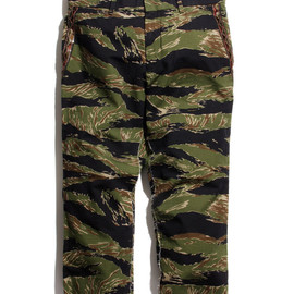 NADA. - Three-quarter Length Tiger-CAMO Pants