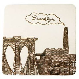 Fishs eddy - Brooklyn Coasters Set of 10