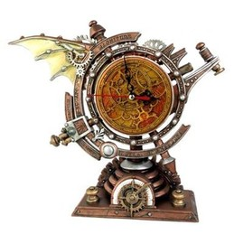 Alchemy Gothic - The Stormgrave Chronometer Clock