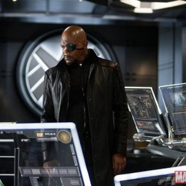 Samuel L. Jackson as Nick Fury in 'Marvel's The Avengers'