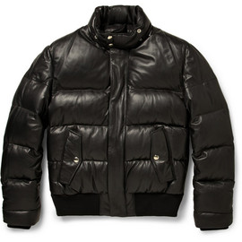 Givenchy - Down-Filled Leather Jacket