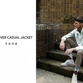 tone - PULLOVER CASUAL JACKET