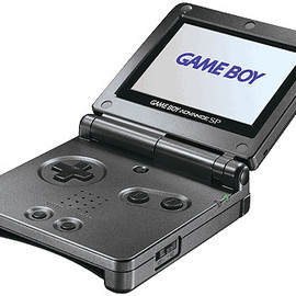 Nintendo - Game Boy Advance SP Backlit Screen (Graphite)