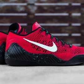 Nike - NIKE KOBE 9 ELITE LOW UNIVERSITY RED/BLACK
