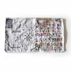 TALKING ABOUT THE ABSTRACTION - TALKING ABOUT THE ABSTRACTION< MATATABI Shape Memory Clutch Bag