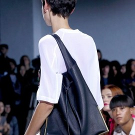 3.1 Phillip Lim - 2013/SS■3.1 Phillip Lim■SCOUT DRAWSTRING LEATHER BAG