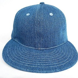 Ebbets Field Flannels - Plain Denim Baseball Cap