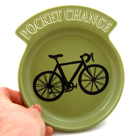 LennyMud - Bike Change Dish in Sage Green