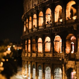 Rome - Night at the Colosseum